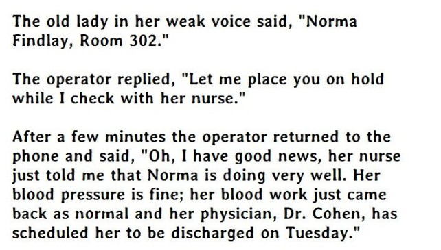 The Smartest Old Lady Ever. Must Read.
