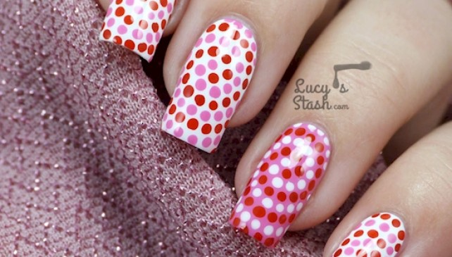 These Dot Designs Of Manicures You Must Try.