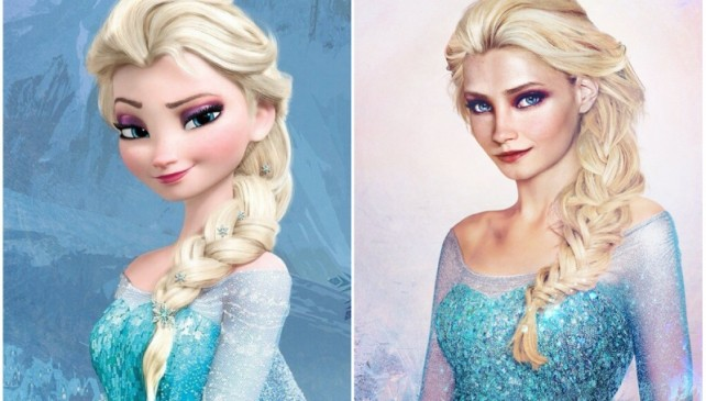 Every Boys Must See How Disney Princesses Would Look Like In Real Life.