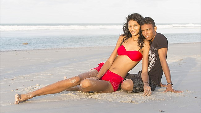 Brazil Tall Model Finds Love In