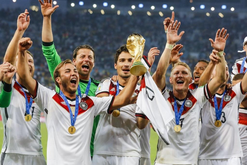 Fussball WM 2014: Deutschland ist Fussballweltmeister 2014
