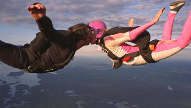 This Skydiving Marriage Proposal Went Horribly Wrong. You Have To See What Happened Mid-Jump