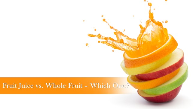 Fruit Juice vs. Whole Fruit – Which One?