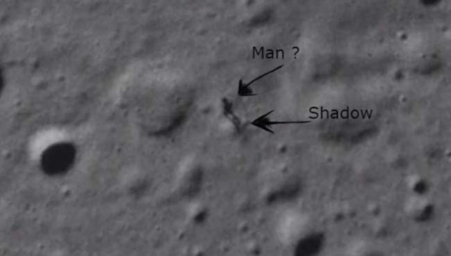 Mystery Man Found on Moon By NASA's Lunar Photo